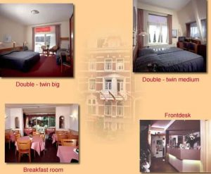 Hotelkamers hotel Hestia